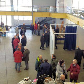 Eindrücke vom Amateurfunk Flohmarkt in der Vestlandhalle
