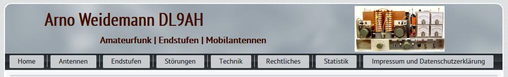 In Erinnerung an Arno Weidemann DL9AH