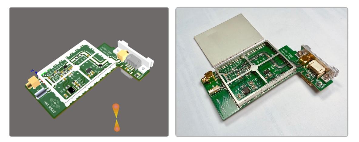 Panadapter für den ICOM IC-7300 von RADIOANALOG