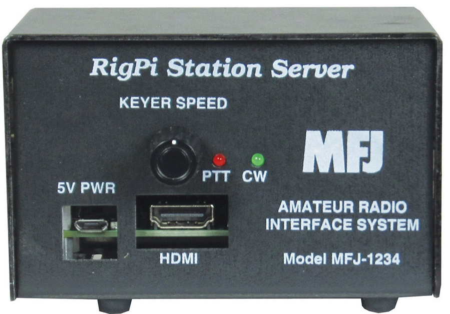RigPi™ Station Server Ferngesteuert mit jedem Webbrowser MFJ-1234
